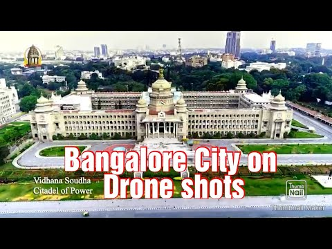 Bangalore drone shots, One can imagine, how beautiful our city is