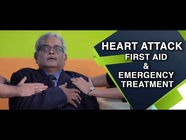 First Aid and Emergency Treatment - Heart Attack : English