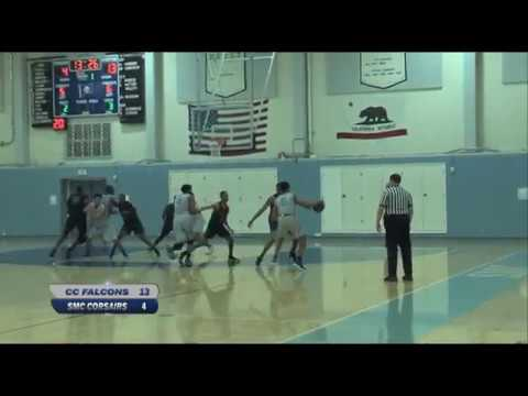 Santa Monica College Men's Basketball vs Cerritos College -  November 7,  2018 (Full Game)