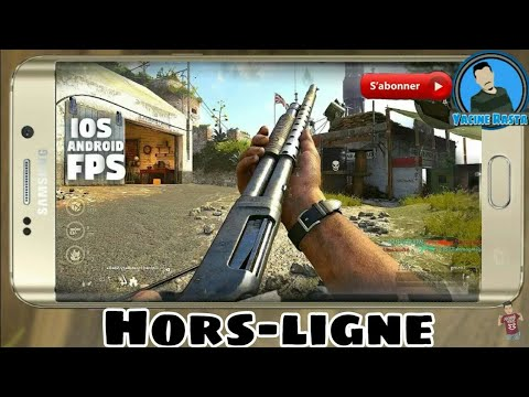 Top 10 Jeux FPS (HorsLine){ANDROID-IOS}(action,guerre,sniper,...)