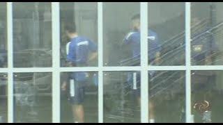 Chuva estraga bate-volta de ônibus do Cruzeiro