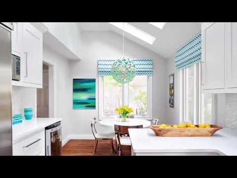50 Curtains for kitchen   Modern design Windows
