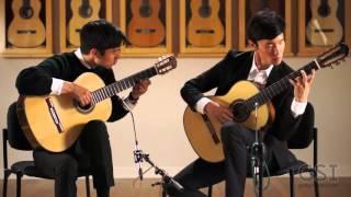 Alex and Wesley Park - Laudate Dominum (K. Brogger Guitars)