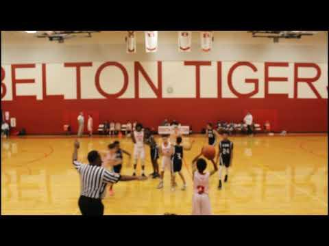 SC Lee vs  South Belton middle School boys basketball; January 30, 2020