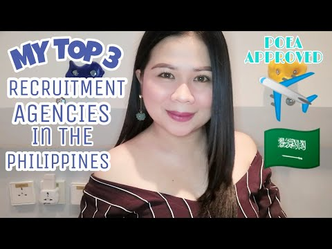 TOP 3 RECRUITMENT AGENCY IN THE PHILIPPINES |NIKIKAY GONZAGA