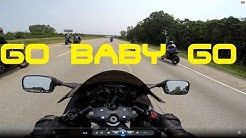HAYABUSA CRUISING 019:HIGH SPEED GROUP RIDE CROTCH ROCKET CHAOS!!!