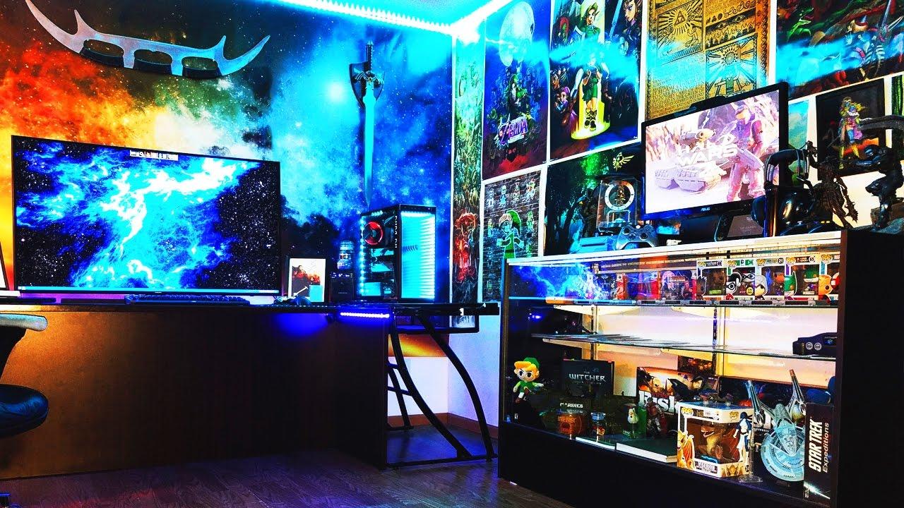 Amazing Pc Game Room Setup Setup Spotlight Youtube