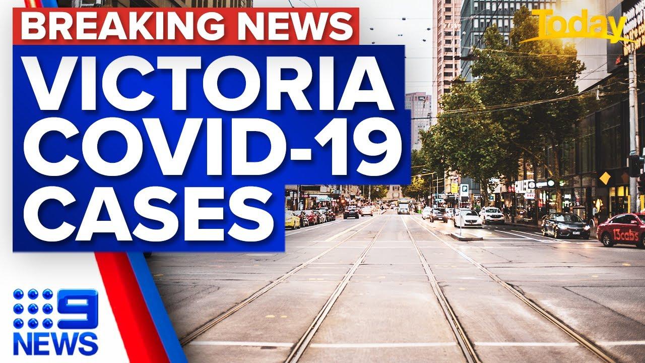 Victoria records two new local cases   Coronavirus   9 News Australia