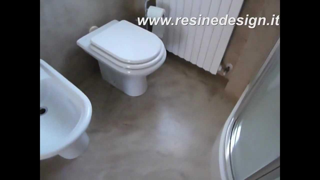 Bagno resina nocciola  pavimento e rivestimento  YouTube
