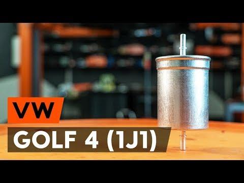 Jak Vyměnit Palivový Filtr Na VW GOLF 4 (1J1) [NÁVOD AUTODOC]