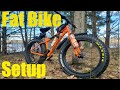 Fatbike Setup For Bikepacking