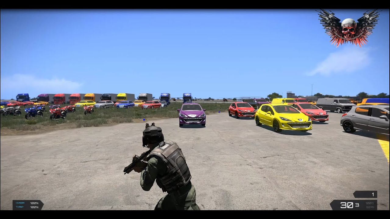 arma 3 exile how to get more vehicles to spawn