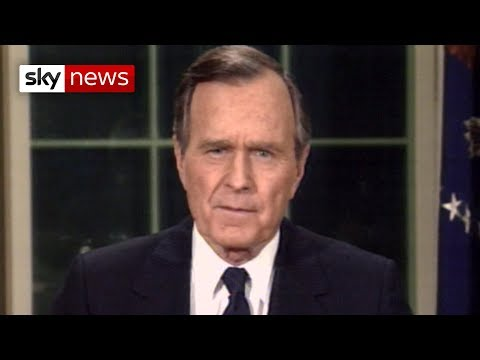 Former US president George H W Bush has died at the age of 94