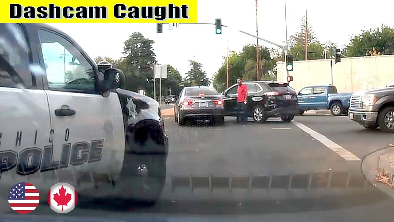 Ultimate North American Cars Driving Fails Compilation - 348 [Dash Cam Caught Video]