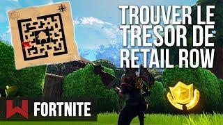 TROUVER LE TRESOR DE RETAIL ROW SEMAINE 7 | Fortnite Battle Royale