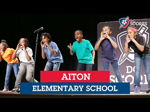 Aiton Elementary School performs at the 2019 Eastside Poetry Slam
