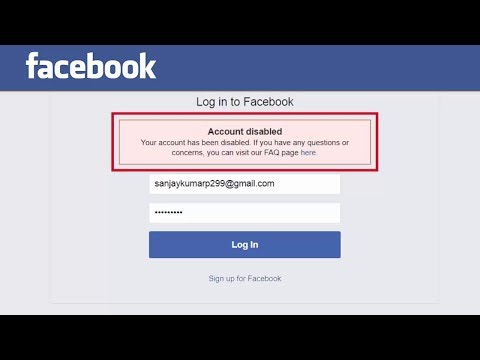 How To Enable/Recover Disabled Facebook Account Within 2