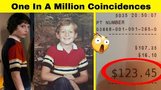 One In A Million Coincidences That Can Make You Believe In Virtually Anything