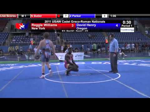 Cadet Greco 215 - David Henry (NY) vs. Reggie Williams (NY)