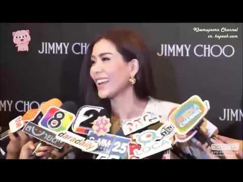 Cherry Khemupsorn @ งานเปิดตัว Jimmy Choo - The EmQuartier (Kapook)