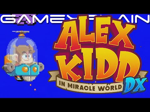 Alex Kidd In Miracle World DX Announced! ...Wait, Really??