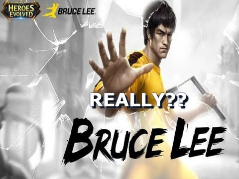 BRUCE LEE really? - Heroes Evolved