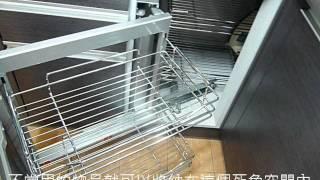 系統廚具工程現場-如何善用廚房的死角空間