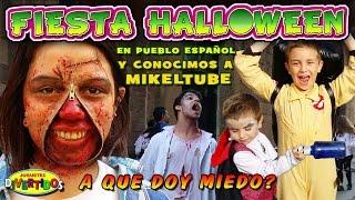 Especial Fiesta Halloween en pueblo Español!!!
