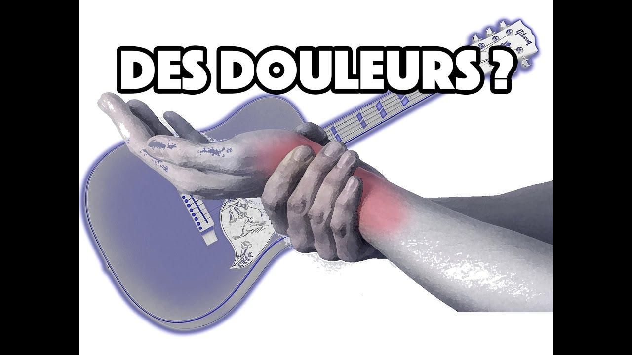 DES DOULEURS ? - LE GUITAR VLOG 121