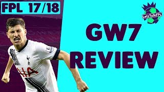Ben davies masterclass | gameweek 7 review | fantasy premier league 2017/18