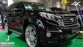 Repeat youtube video (4K)TOYOTA LANDCRUISER PRADO 150 - Osaka Auto Messe 2015 大阪オートメッセ2015・ランドクルーザープラド