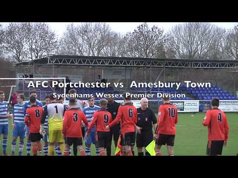 Highlights: AFC Portchester 3 vs 1 Amesbury Town