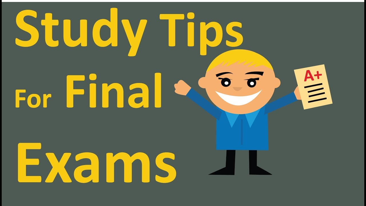 How to Study Smart Like a Top Student - Study Tips for Final Exams! -  YouTube