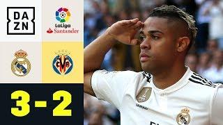 Doppelter Mariano schießt Real zum Sieg: Real Madrid - Villarreal 3:2 | La Liga | DAZN Highlights