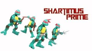 TMNT Original Comic Version Leondardo, Donatello, Raphael, Michelangelo Playmates Mirage Comics Acti