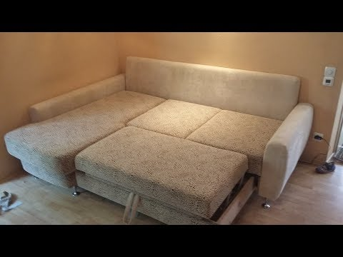 Устраняем ямы на диване самостоятельно.