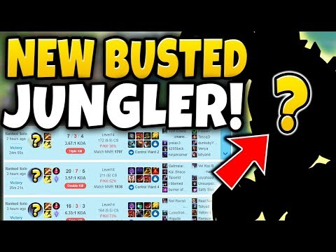 THIS CHAMPION IS ACTUALLY BUSTED IN PATCH 8.10! *NEW* JUNGLE META | #20 - League of Legends