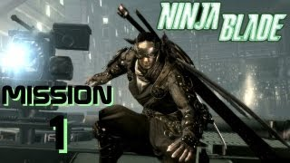 Ninja blade playthrough french from software xbox 360 pc 2009 HD Mission 1