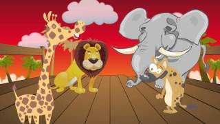 "Dancing Songs for Kids & Lyrics - ""Monkey Party"""