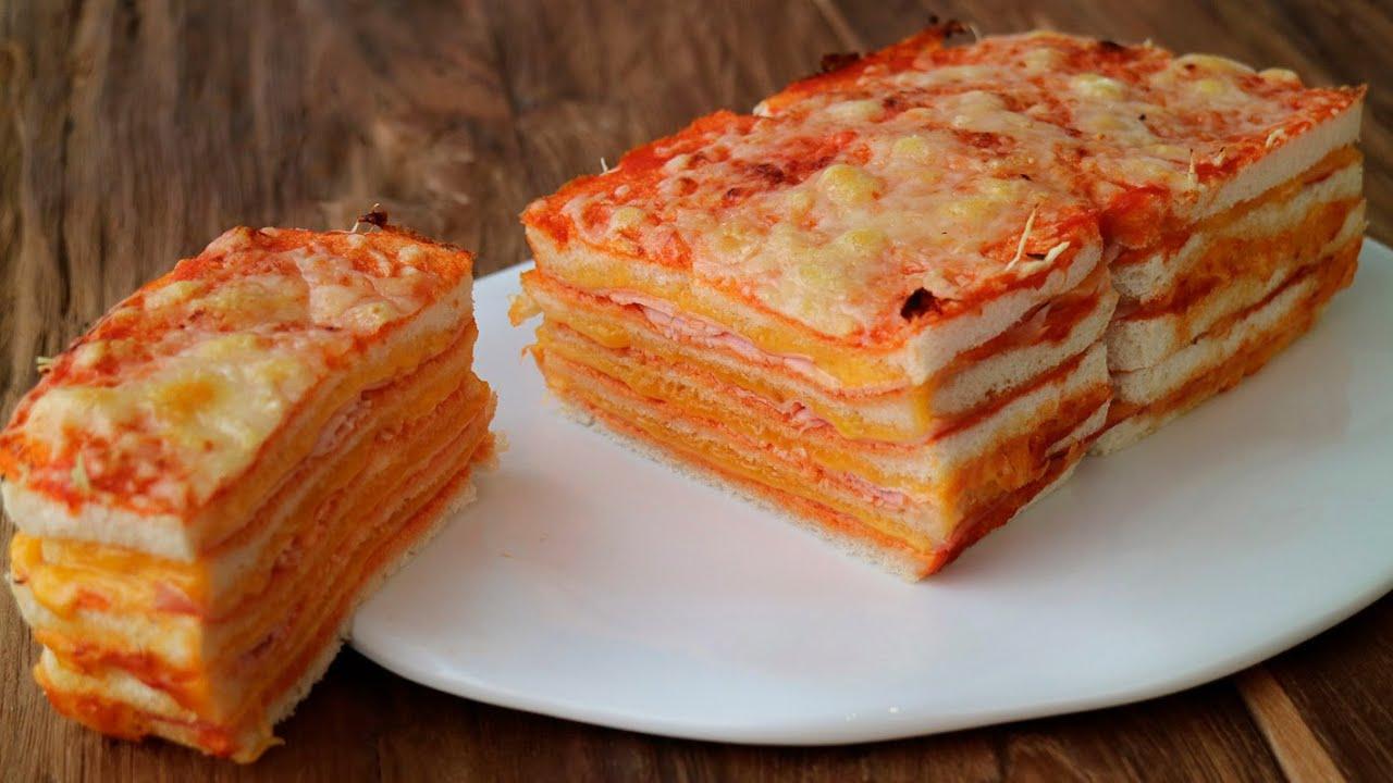 Pastel de jamón y queso fácil, rico y jugoso ¡5 ingredientes y muy rápido de hacer!