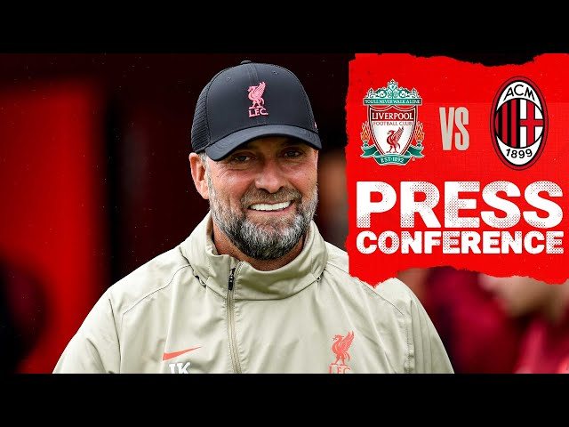 Liverpool's Champions League press conference from Anfield   Milan