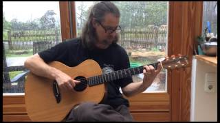 "Jørgen Lang plays ""Fragile Balance"" by Rüdiger Oppermann on DADGAD guitar"