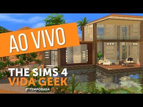 🔴 DECORANDO A CASA NOVA - PARTE 1 | The Sims 4 - Vida Geek #12