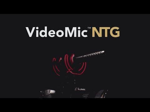 Introducing the VideoMic NTG On-Camera Shotgun Microphone   Distributor Announcement