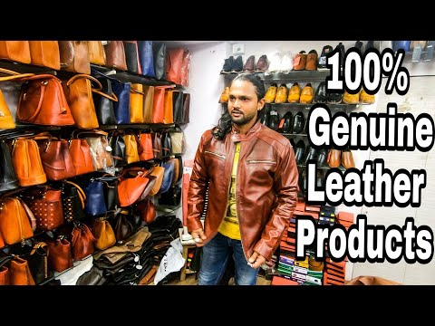 Dharavi Leather Market | Jacket, Shoes, Bags, Wallets | Mumb