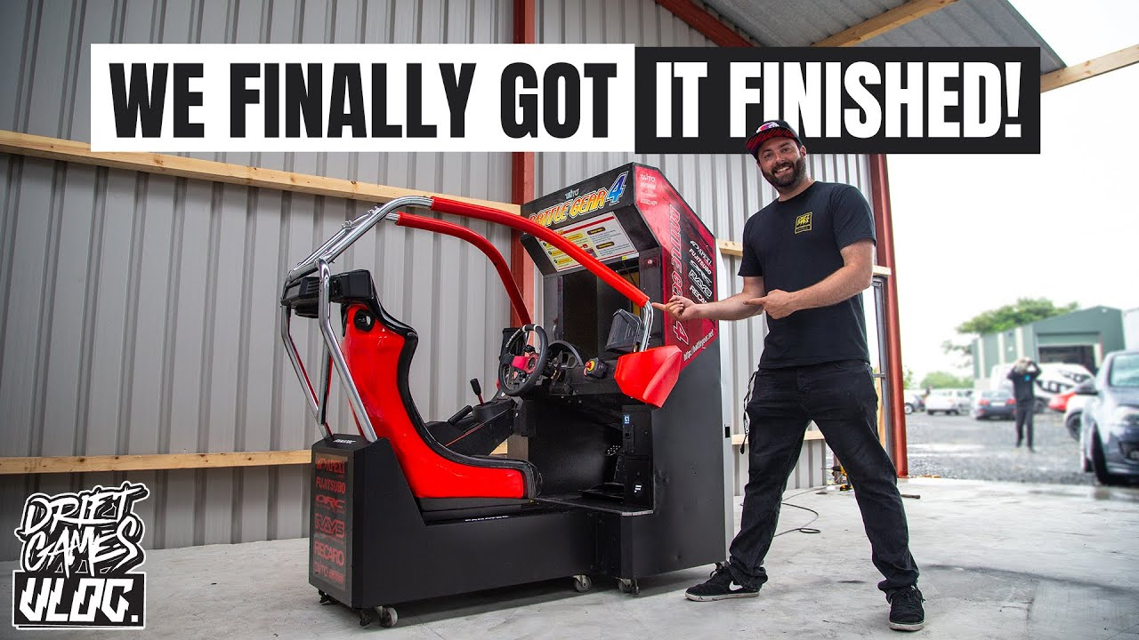 OUR FANATEC ARCADE MACHINE IS BACK TOGETHER! | PT 3