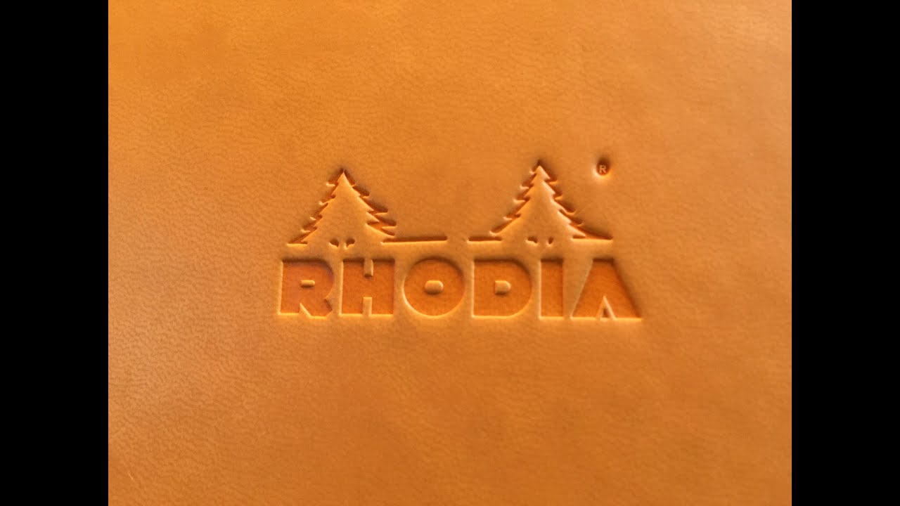 Rhodia Webnotebook Review Youtube