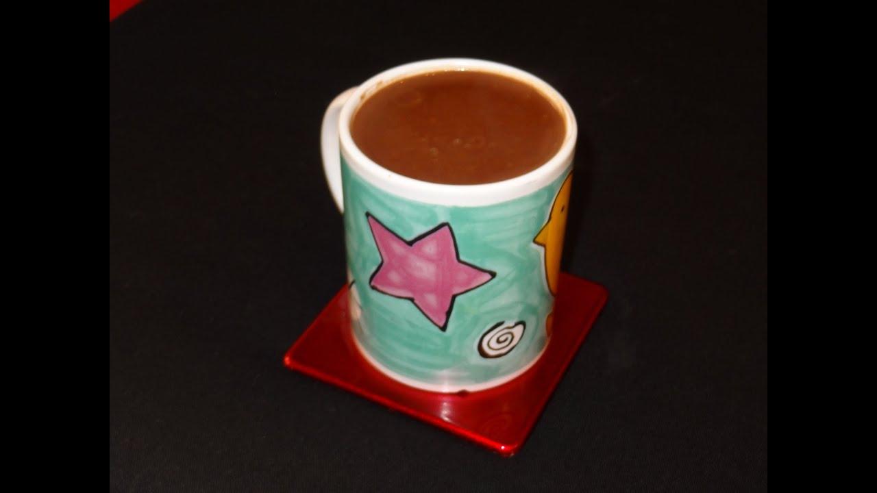 Receta De Chocolate A La Taza Casero Chocolate Espeso
