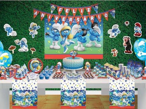 Artigos para Festa Os Smurfs e a Vila Perdida Festcolor