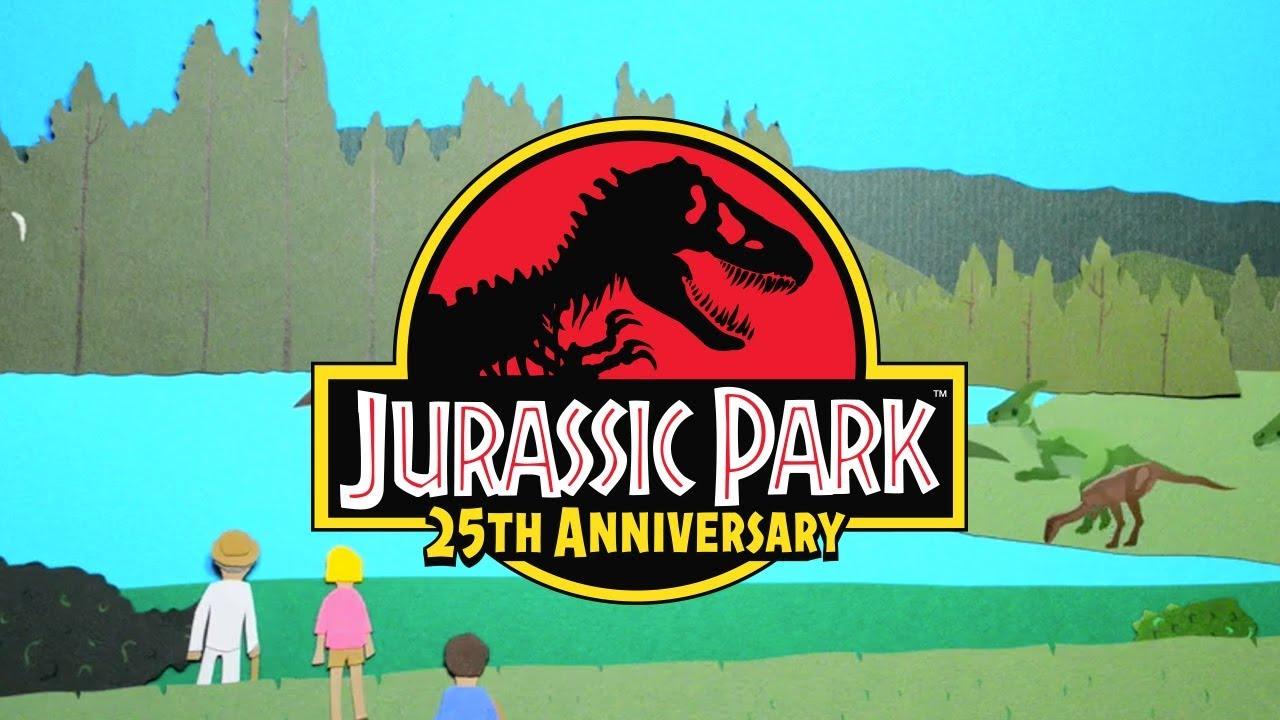 Jurassic Park Paper Edition | Welcome to Jurassic Park | #JurassicPark25